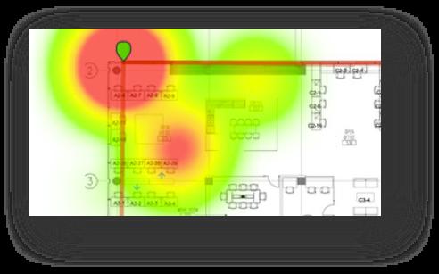wifi lan network heatmap